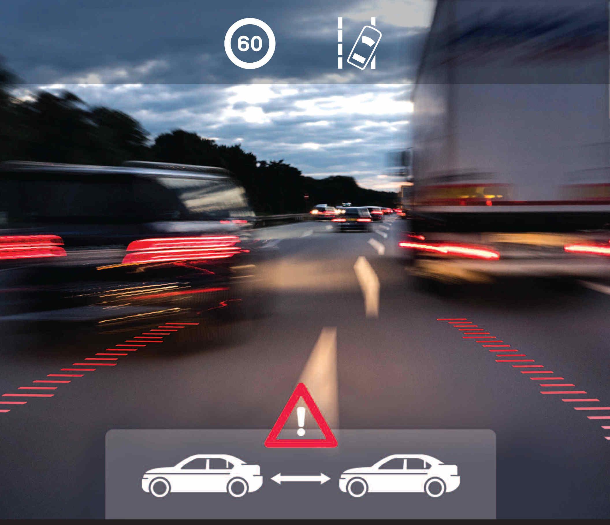 GPS Dash Cam footage